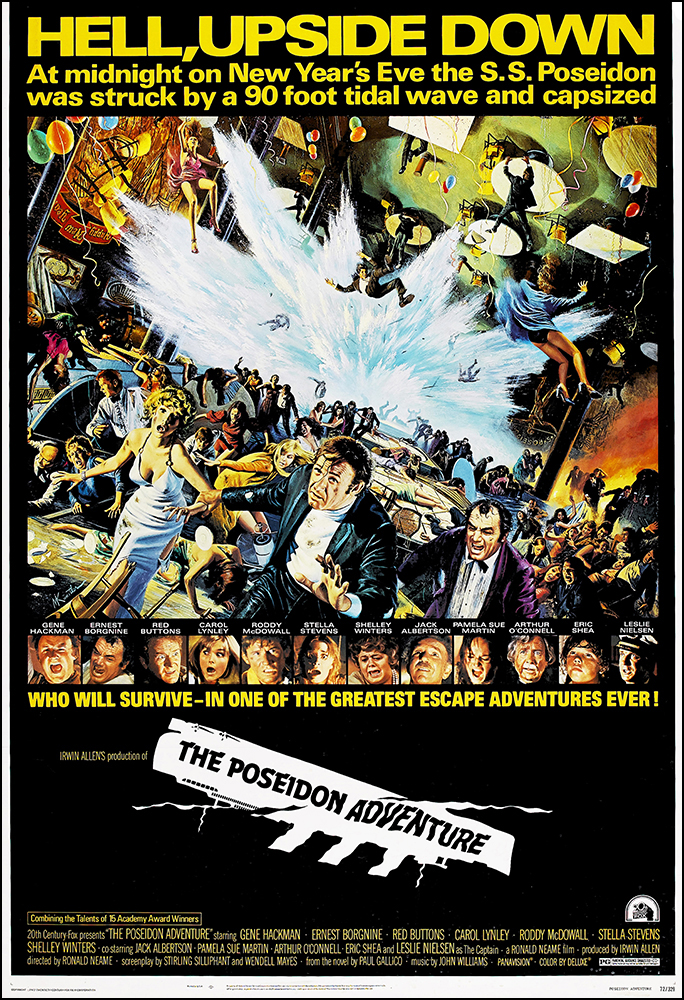 Details About The Poseidon Adventure Movie Poster Print 1972 Action 1 Sheet Artwork