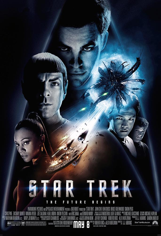 Star Trek Movie Poster Print
