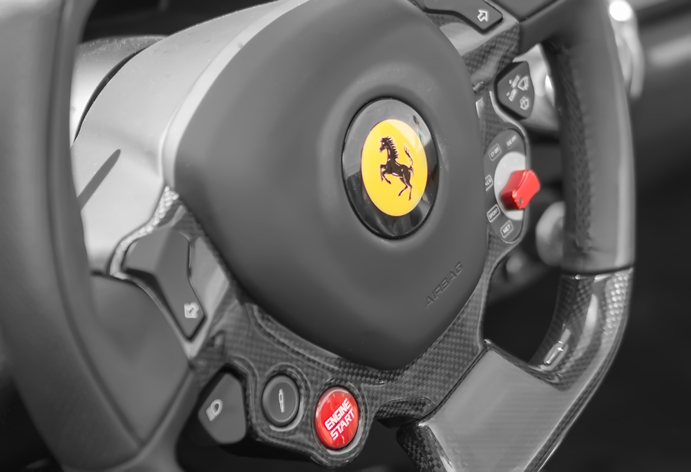 FERRARI 458 SPECIALE SPIDER CAR POSTER PRINT STYLE A 24x36 9 MIL PAPER