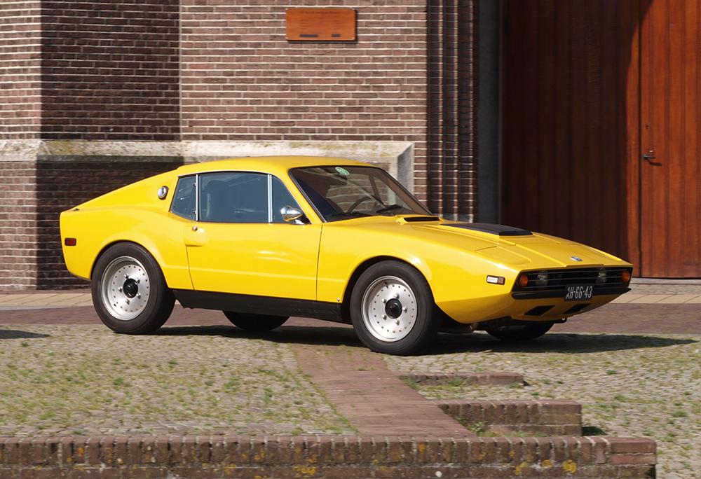 1971 SAAB Sonett III - Car Poster - Sports Car Print - Classic Car ...